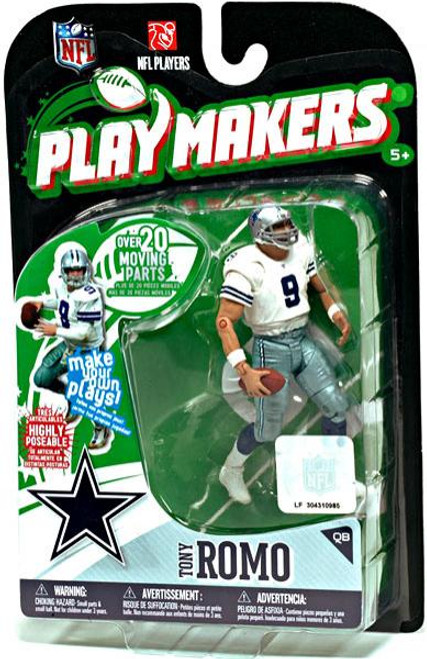 McFarlane Toys NFL Dallas Cowboys Playmakers Series 1 Tony Romo Action Figure