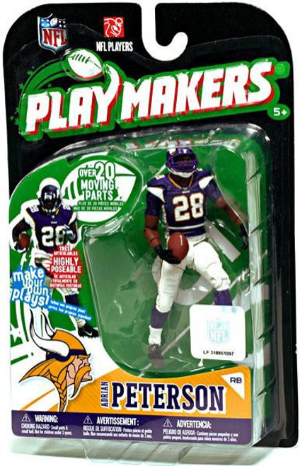 McFarlane Toys NFL Minnesota Vikings Playmakers Series 1 Adrian Peterson Action Figure