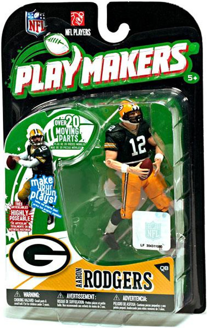 McFarlane Toys NFL Green Bay Packers Playmakers Series 1 Aaron Rodgers Action Figure