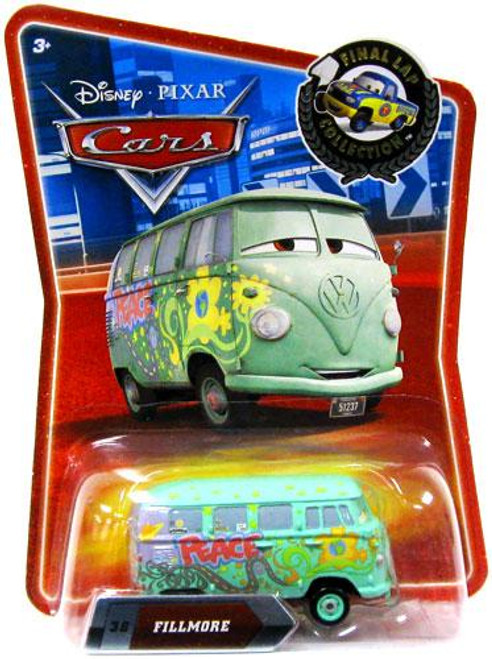 Disney Cars Final Lap Collection Fillmore Exclusive Diecast Car