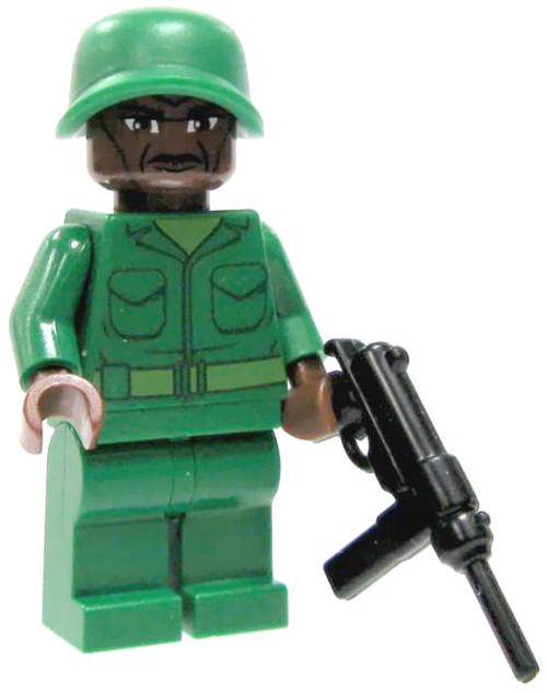 LEGO Custom Loose U.S. Submachine Gunner Minifigure [Loose]