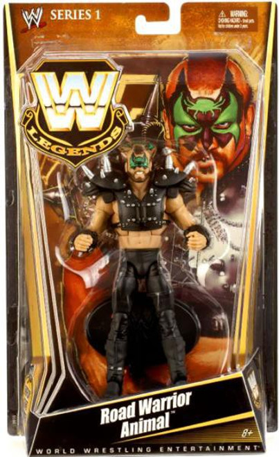 WWE Wrestling Legends Series 1 Road Warrior Animal Action Figure