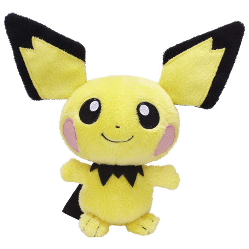 Pokemon Mini Plush Series 12 Pichu 6-Inch Plush