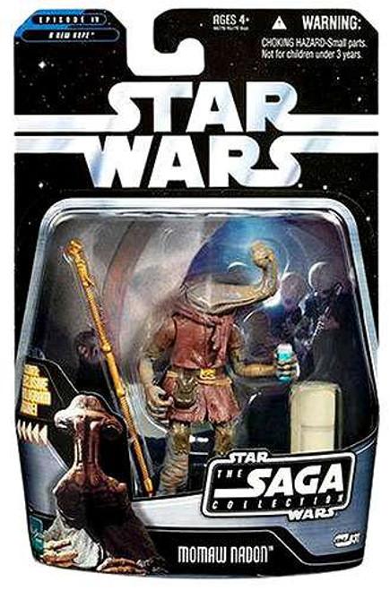 Star Wars A New Hope Saga Collection 2006 Momaw Nadon Action Figure #31 [Hammerhead]