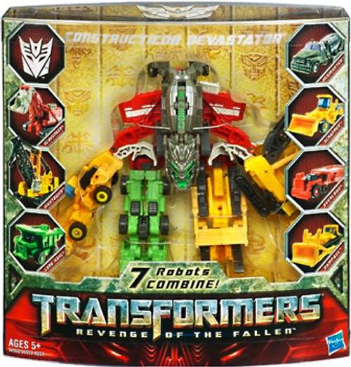 Transformers Revenge of the Fallen Constructicon Devastator Exclusive Legends Action Figure