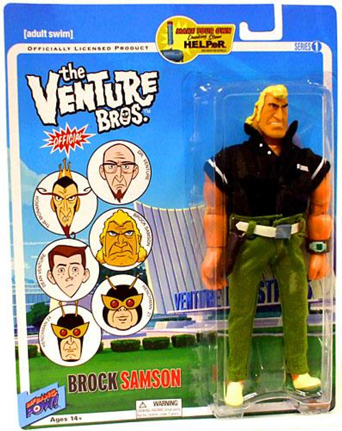 The Venture Bros. Series 1 Brock Samson Action Figure