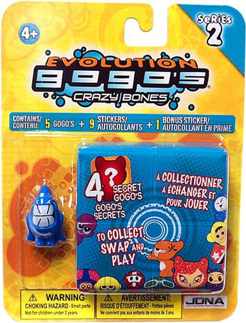 Crazy Bones Gogo's Series 2 Evolution Blister Pack