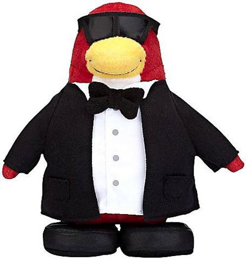 Club Penguin Series 7 Secret Agent 6.5-Inch Plush Figure