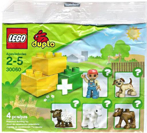 LEGO Duplo Preschool Building Toy Mini Set #30060 [Bagged]