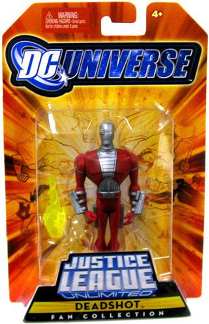 DC Universe Justice League Unlimited Fan Collection Deadshot Action Figure