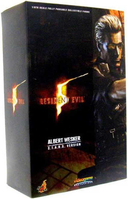 Resident Evil 5 Video Game Masterpiece Albert Wesker 1/6 Collectible Figure [S.T.A.R.S. Version]