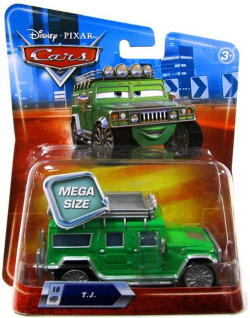 Disney Cars Deluxe Oversized TJ Diecast Car