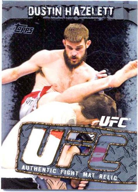 UFC Round 3 Fight Mat Relic Dustin Hazelett FMR-DH