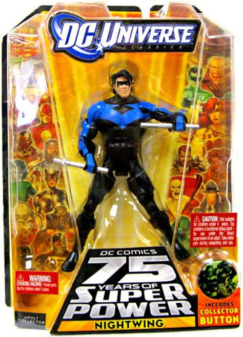 DC Universe 75 Years of Super Power Classics Nightwing Action Figure [Blue & Black]