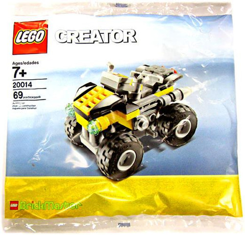 LEGO Creator Quad Bike Exclusive Mini Set #20014 [Bagged]