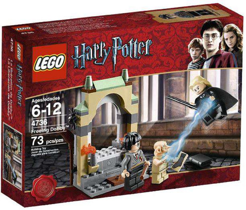 LEGO Harry Potter Series 2 Freeing Dobby Set #4736