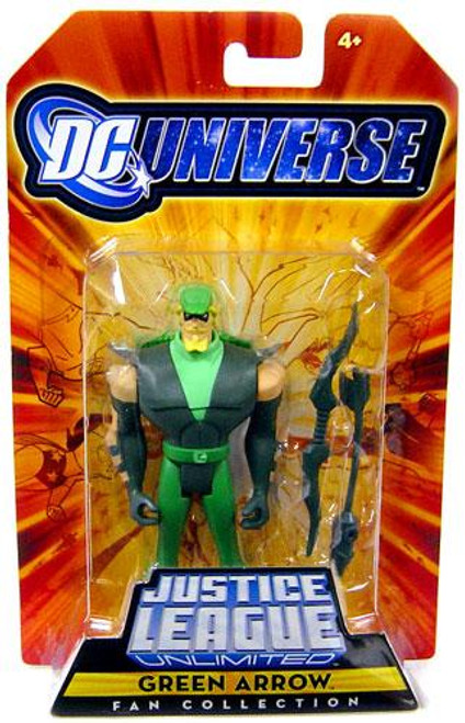 DC Universe Justice League Unlimited Fan Collection Green Arrow Action Figure