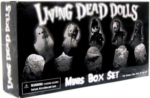 Living Dead Dolls Series 16 Minis Box Set Mini Dolls