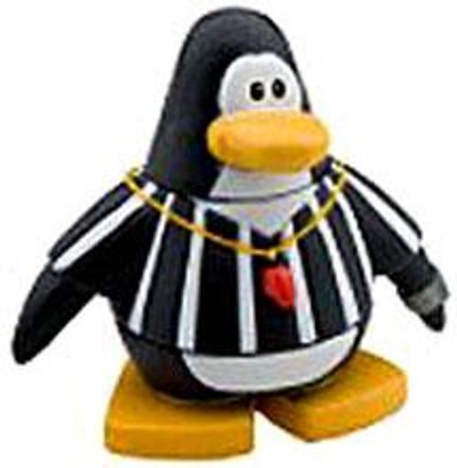 Club Penguin Referee 2-Inch Mini Figure