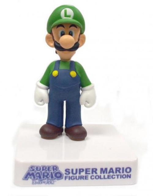 Super Mario Figure Collection Luigi 3-Inch Mini Figure