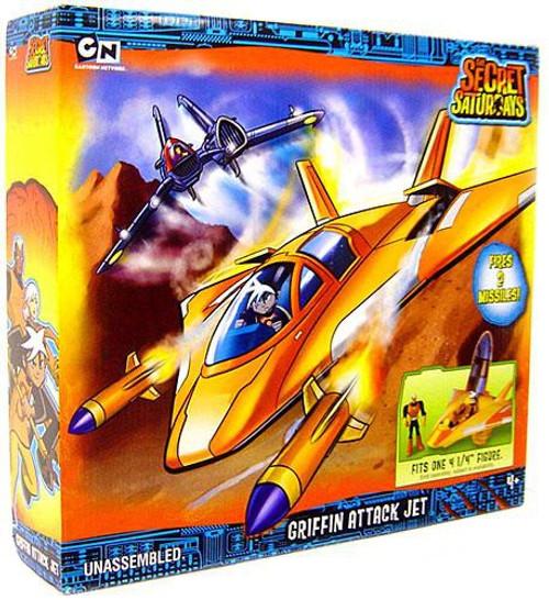 The Secret Saturdays Griffin Attack Jet Playset