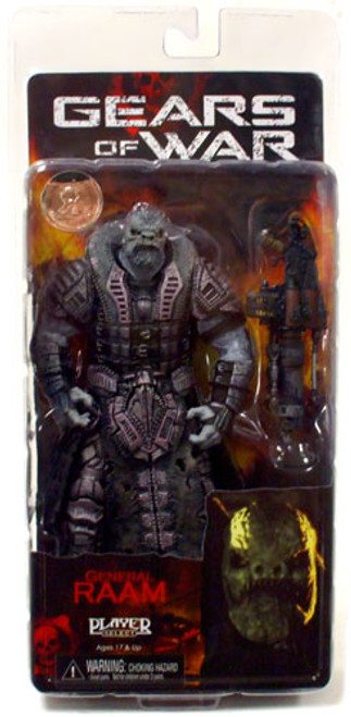 NECA Gears of War General Raam Exclusive Action Figure