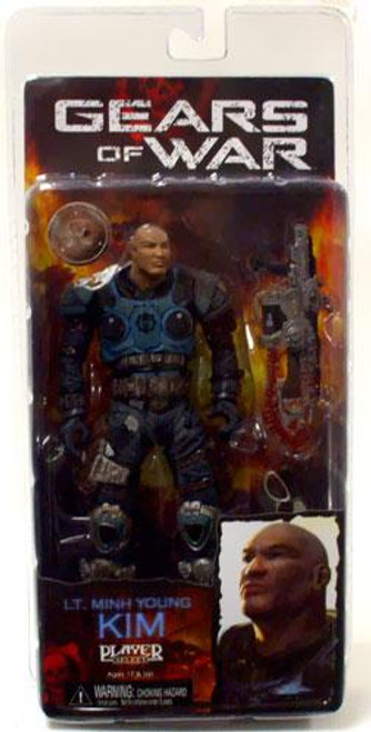 NECA Gears of War 2 Lt. Minh Young Kim Exclusive Action Figure