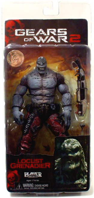 NECA Gears of War 2 Locust Grenadier Exclusive Action Figure