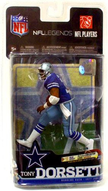 McFarlane Toys NFL Dallas Cowboys Sports Picks Legends Series 6 Tony Dorsett Action Figure [Royal Blue Jersey]