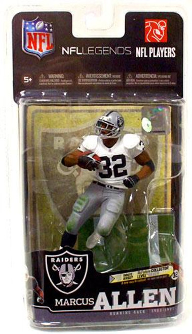 McFarlane Toys NFL Oakland Raiders Sports Picks Legends Series 6 Marcus Allen Action Figure [White Jersey]