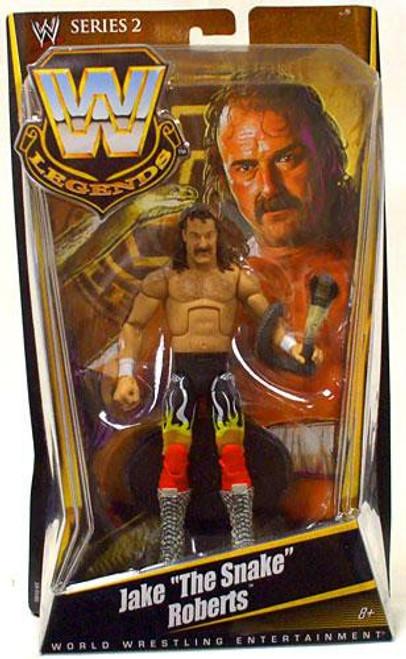 "WWE Wrestling Legends Series 2 Jake ""The Snake"" Roberts Action Figure"