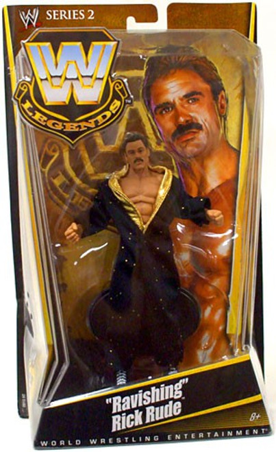 "WWE Wrestling Legends Series 2 ""Ravishing"" Rick Rude Action Figure"