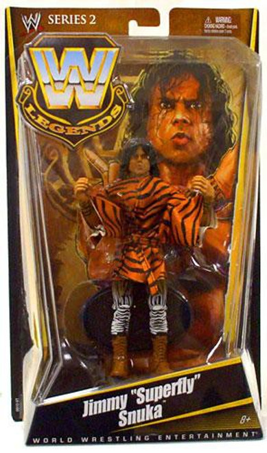 "WWE Wrestling Legends Series 2 Jimmy ""Superfly"" Snuka Action Figure"