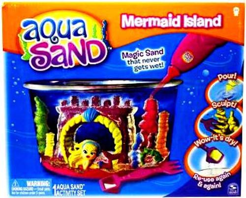 Aqua Sand Mermaid Island Activity Set
