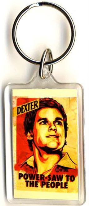 Dexter Power-Saw To The People Keychain [Lucite]