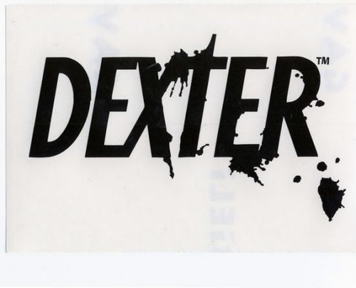 Dexter Logo Rub On Sticker [Black]
