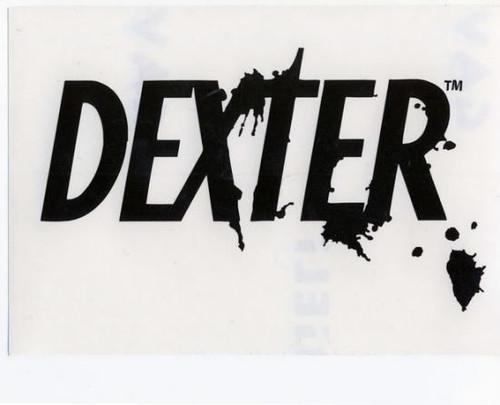 Dexter Logo Rub On Sticker [Black]