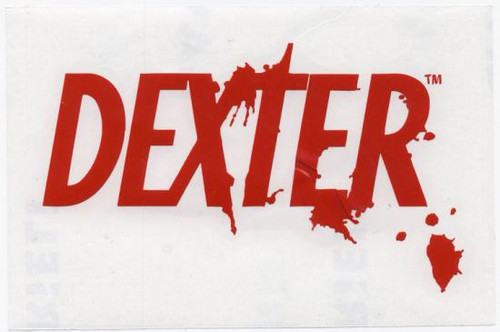 Dexter Logo Rub On Sticker [Red]