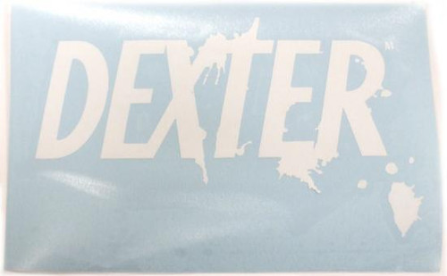 Dexter Logo Rub On Sticker [White]