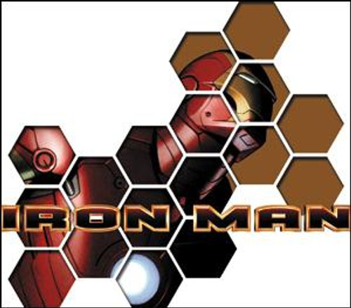 Marvel Iron Man Sticker Pieces