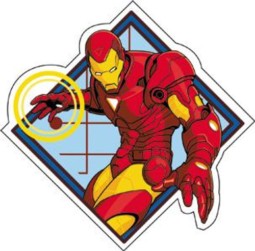 Marvel Iron Man Invincible Sticker
