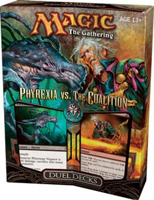 MtG Duel Decks: Phyrexia vs. the Coalition Phyrexia vs. the Coalition Duel Decks [Sealed]
