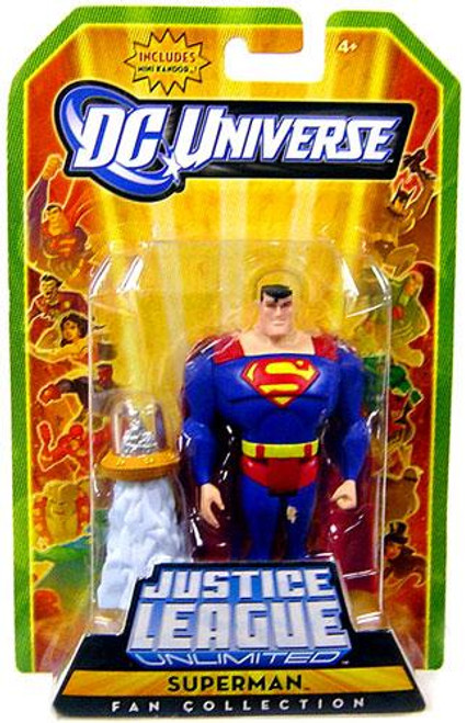 DC Universe Justice League Unlimited Fan Collection Superman Action Figure [Mini Kandor]