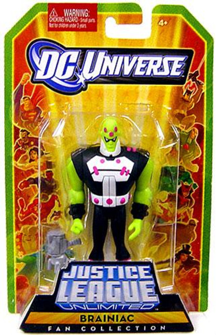 DC Universe Justice League Unlimited Fan Collection Brainiac Action Figure