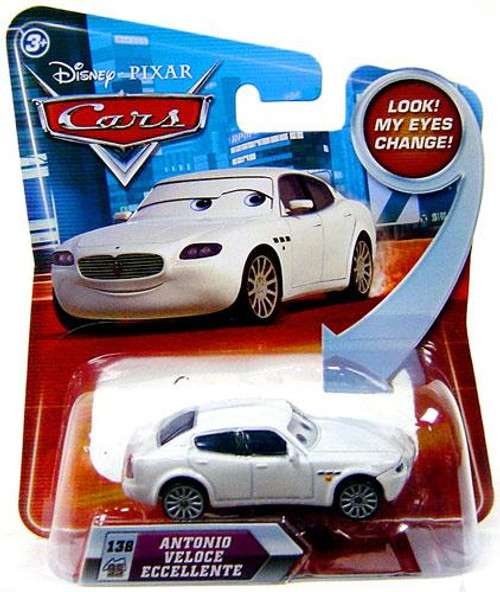 Disney Cars Lenticular Eyes Series 2 Antonio Veloce Eccellente Diecast Car
