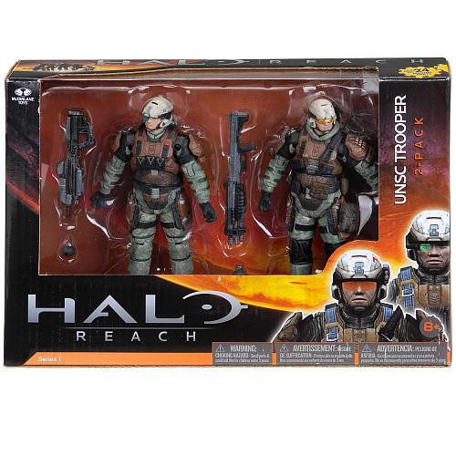 McFarlane Toys Halo Reach Series 1 UNSC Trooper Action Figure 2-Pack