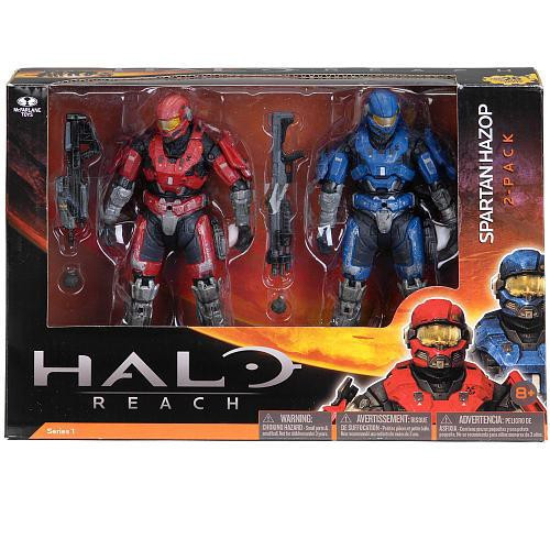 McFarlane Toys Halo Reach Series 1 Spartan Hazop Action Figure 2-Pack