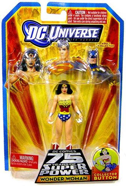 DC Universe 75 Years of Super Power Infinite Heroes Wonder Woman Action Figure