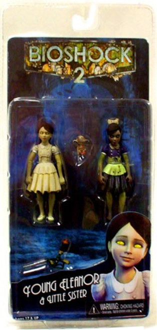 NECA Bioshock 2 Series 2 Young Eleanor & Little Sister Action Figure 2-Pack