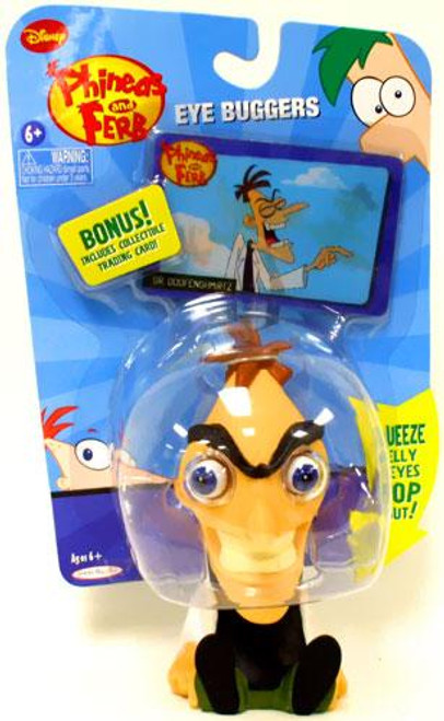 Disney Phineas and Ferb Eye Buggers Dr. Doofenshmirtz Figure